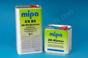 MIPA CS85 2K-HS LACQUER KIT (1.5 and 7.5 LTR)